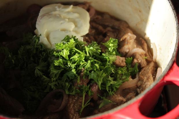 Beef stroganoff (9)