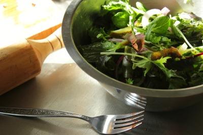 Gherkin salad