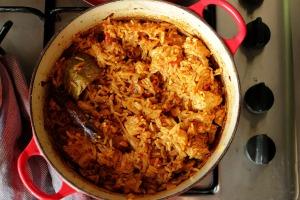 Bangladeshi Chicken Pilau, Finished