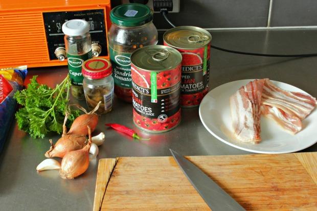 Bacon tomato pasta (1)